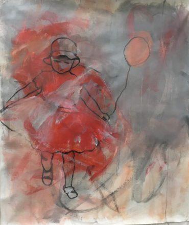 """Serie """"Warum Kresse"""" 8, 90 x 105 cm"""
