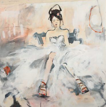 Serie Pasa, Acryl/ Leinwand, 100 x 100 cm