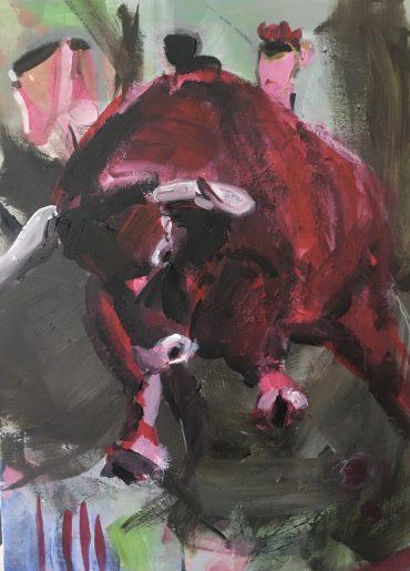 "Aus der Serie ""Burli"", Acryl/Leinwand, 60x80cm"