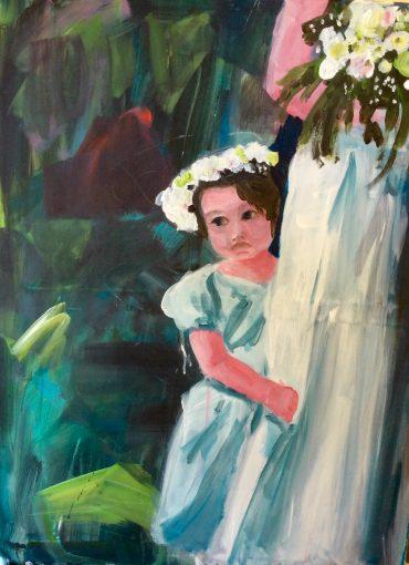Hochzeit, 60 x 80 cm