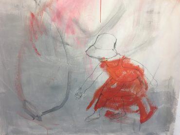 """Serie """"Warum Kresse"""" 7, 105 x 100 cm"""